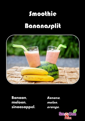 Smoothie: Banana Split